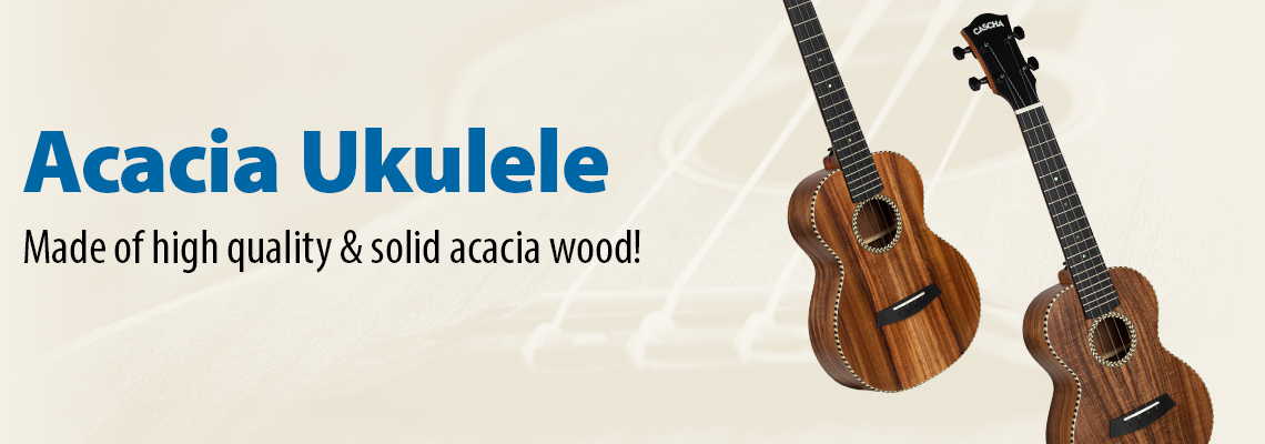 All Solid Acacia Ukulele