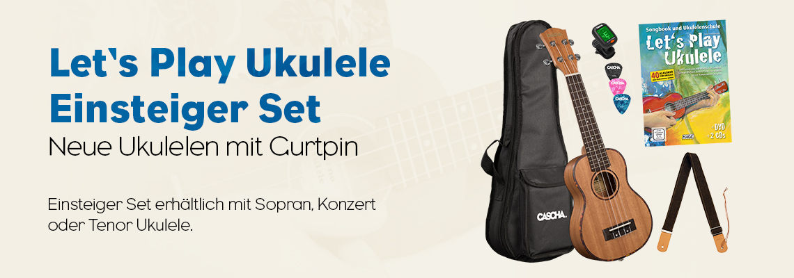 Let's Play Ukulele Einsteiger Set