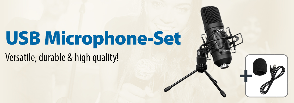 USB Microphone-Set
