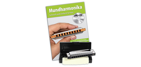 HH 1600 DE Blues Mundharmonika Set