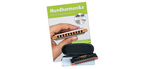 HH 1610 DE Professional Blues Mundharmonika Set