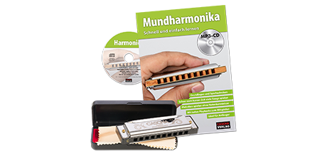 HH 1620 DE Special Blues Mundharmonika Set