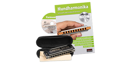 HH 1630 DE Master Edition Blues Mundharmonika Set