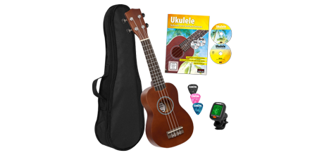 HH 3956 GB Soprano Ukulele Bundle
