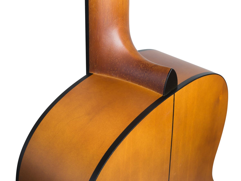 CASCHA Student Series 4//4 Classical Guitar Starter Set Concert Guitar Starter Set